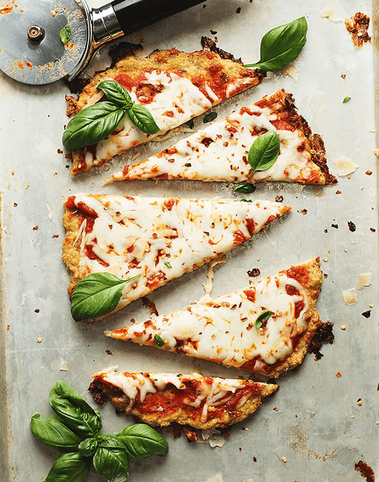 ground chicken crust pizza recipe